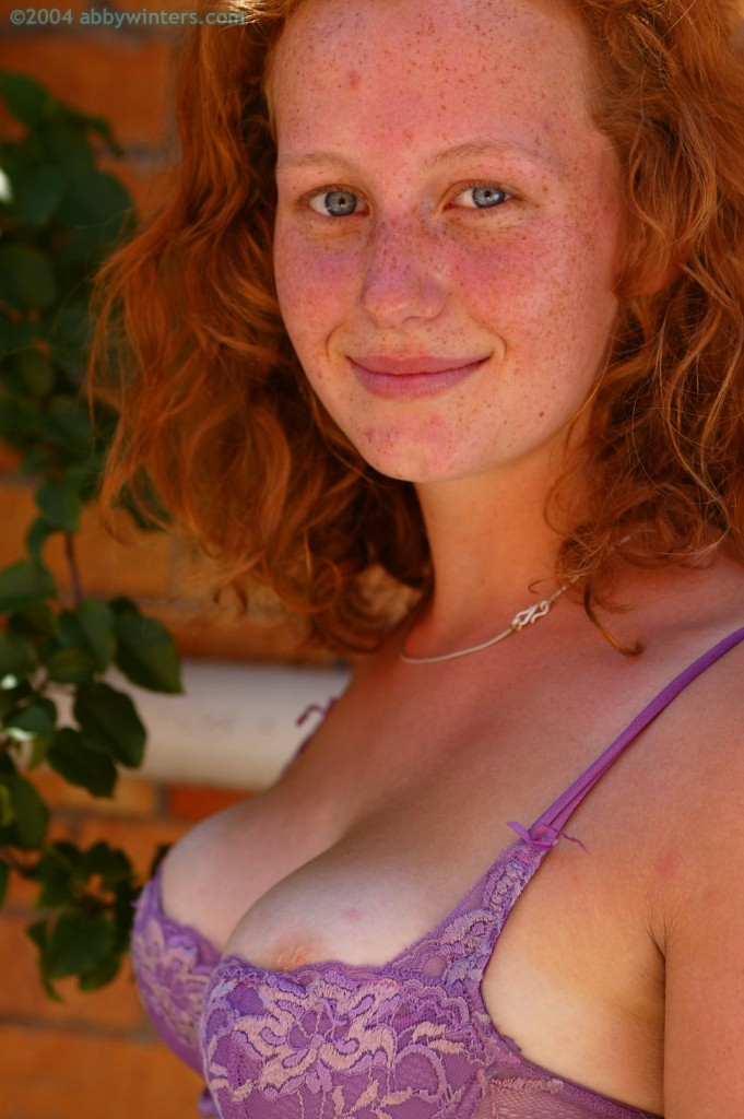Freckled Redhead With Big Tits