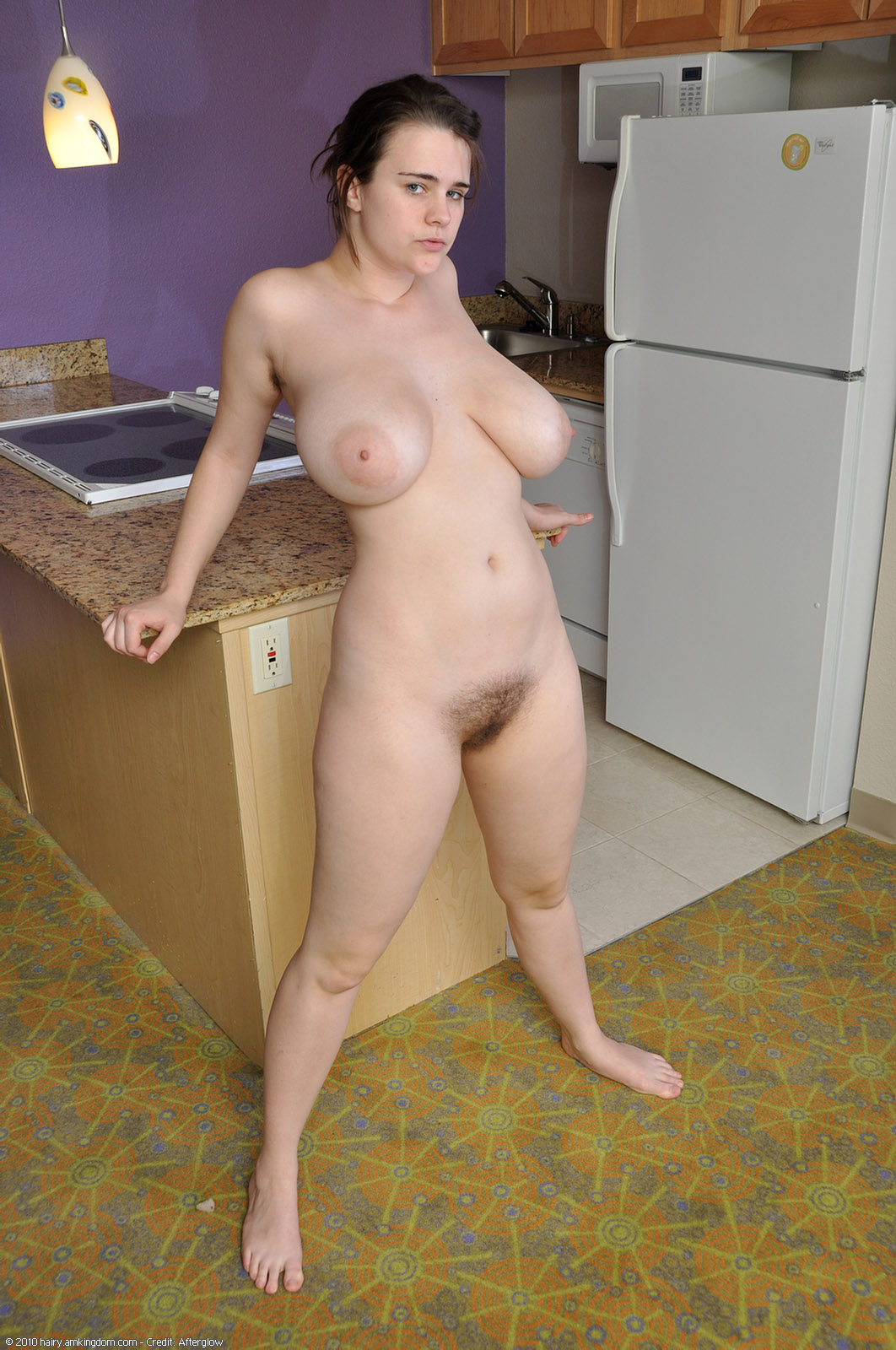 Chubby blonde virgin