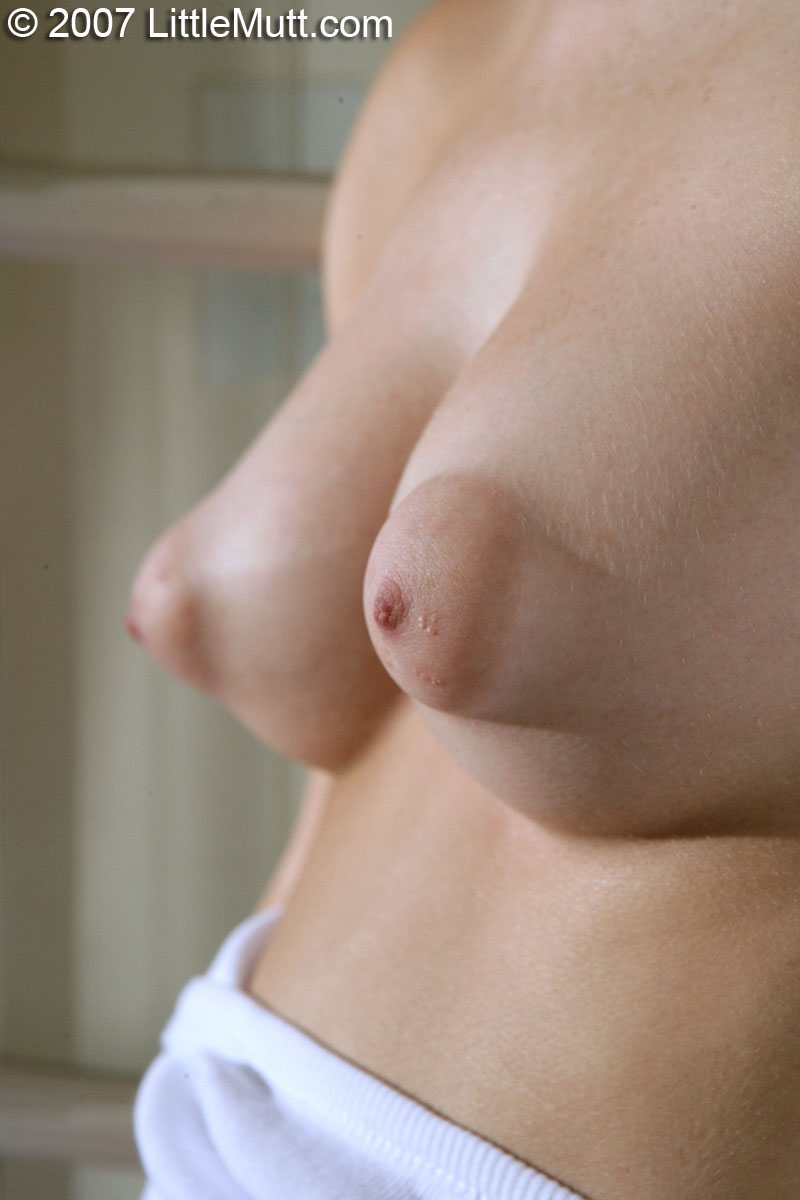 Nude female with large areola think
